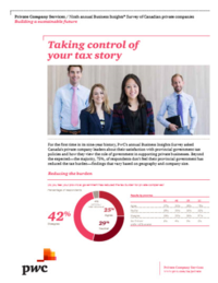 Article: Taking control of your tax story